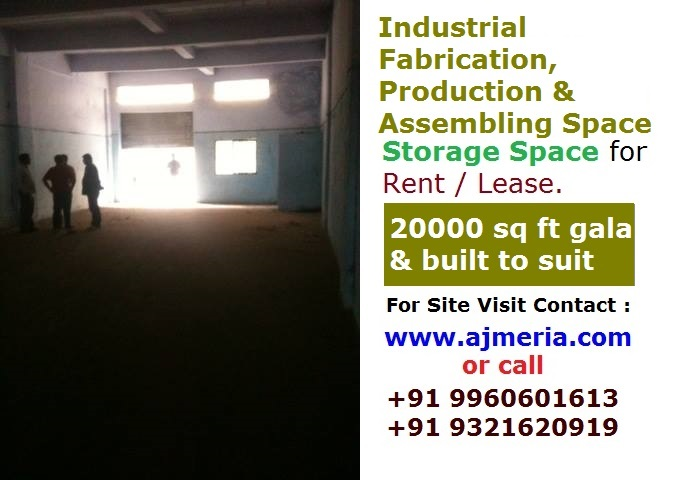 production assembling space industrial fabrication storage space for rent lease 20000 sq ft. Black Bedroom Furniture Sets. Home Design Ideas